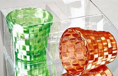 glass candle holders for decoration