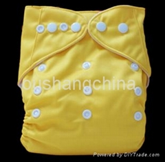 WHOLESALE+Pororo solid color washable baby cloth diapers/baby nappy