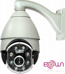"""7"""" IR Variable Speed Dome Camera"""