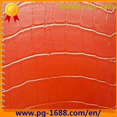 pvc sofa leather