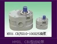 供应HY013X5-100X25齿轮泵