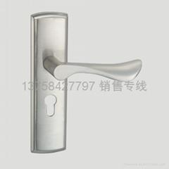 铝合金执手锁
