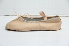 Dttrol Full Sole Pig Leather Ballet Shoes ballet slipper (D005002)