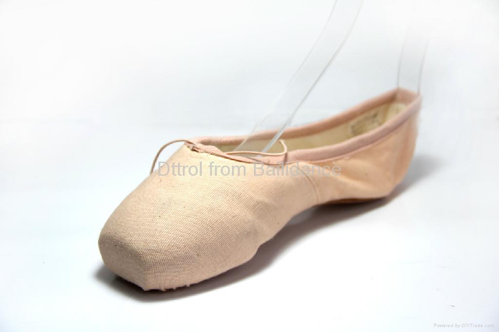 Dance Shoes Black pleated elastic professional dancing ... |Practice Ballet Shoes