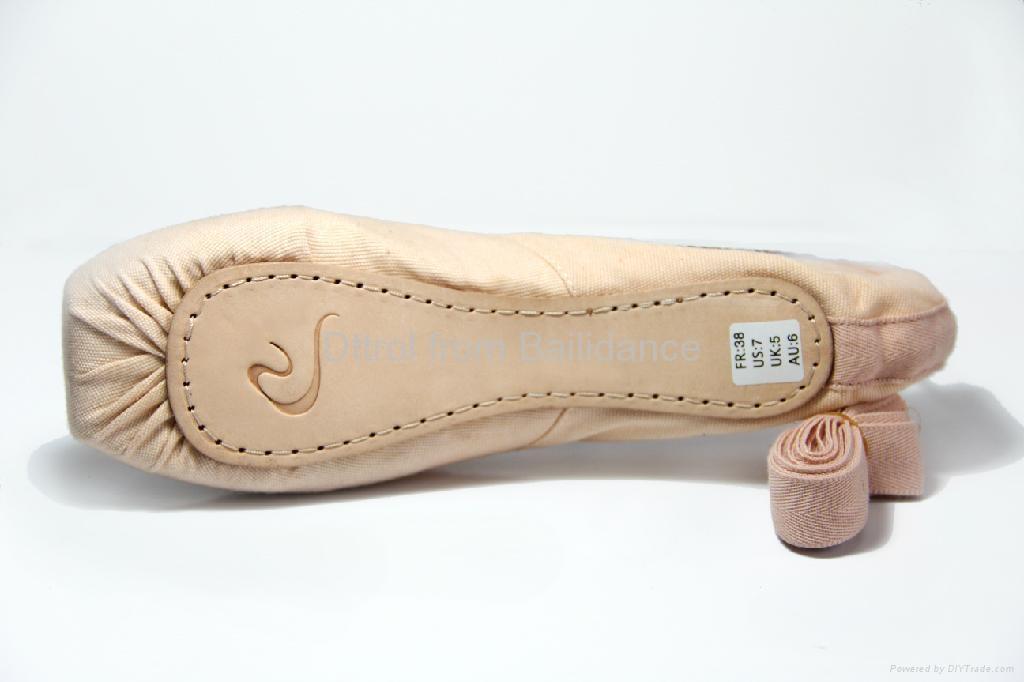 Dttrol Practice canvas dance ballet Pointe Shoes for dance ... |Practice Ballet Shoes