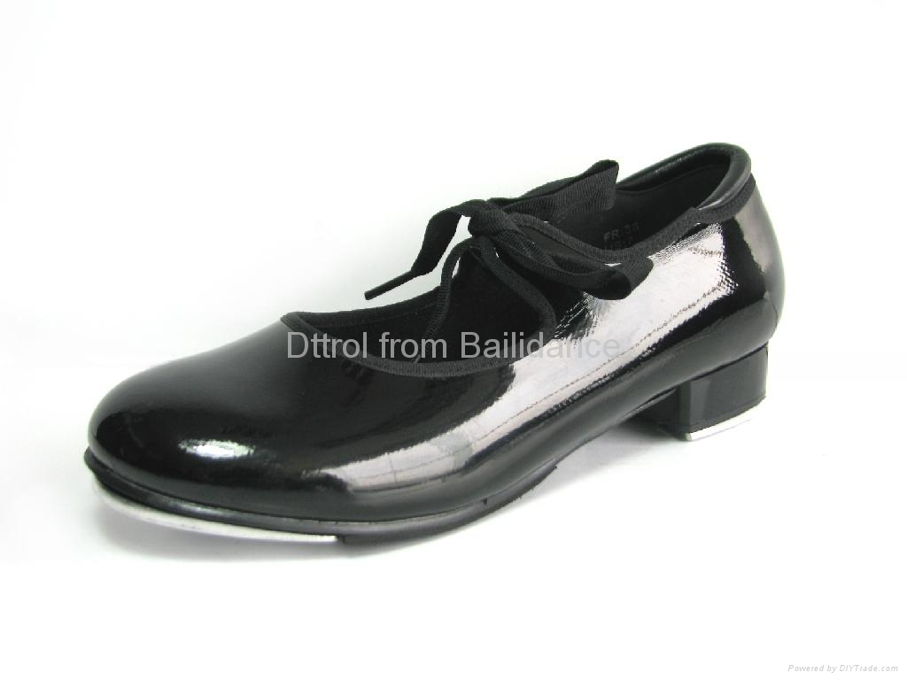 Dttrol Strap and Tie dance Tap Shoes