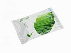 Skin Care Wet Wipes Aloe Vera Gel