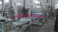 plastic sheet extruder