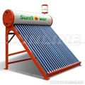 Galvanized Steel Pressure Solar Water