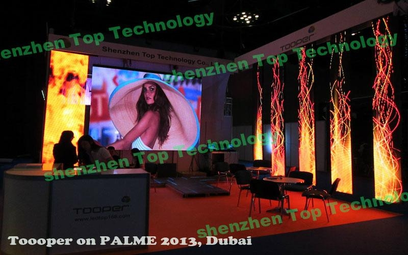 Roll-up flexible led display 4