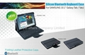 "Bluetooth Keyboard Leather case for 10.1""Samsung Galaxy Tab 2 P5100/P5110/P5113"