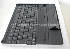 Aluminum cover built-in Bluetooth Keyboard for Ipad 2 ipad 3