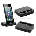Desktop Data Sync & Charger Cradle Mount Dock Docking Station for Apple iPhone 5