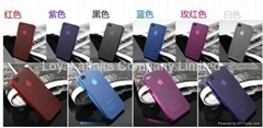 Matte Clear Ultra-Slim Case Skin Cover For IPhone 4G/4S Gen(multi-color)