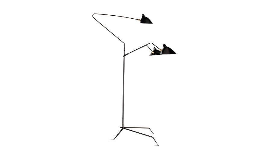 Serge Mouille Three-Arms Floor Lamp 1