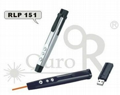 Multimedia wireless presenter with laser pointer-RLP151
