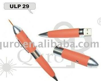 USB flash drive laser pointer ball pen-ULP29    1