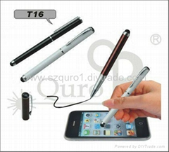 tablet capacitive touch pen,touch pen+ballpen