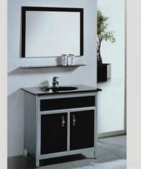 Glass washing table-board