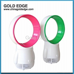 latest modern mini cooler fan 5 inch fan,gift usb bladeless fan