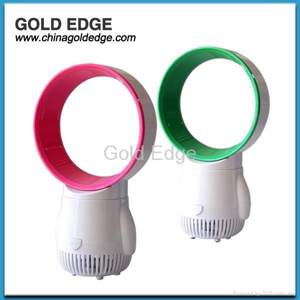 latest modern mini cooler fan 5 inch fan,gift usb bladeless fan 3