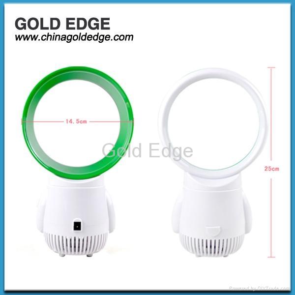 latest modern mini cooler fan 5 inch fan,gift usb bladeless fan 4