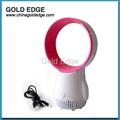 latest modern mini cooler fan 5 inch fan,gift usb bladeless fan 5
