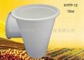 一次性玉米淀粉可降解环保12oz杯 2
