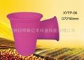 Disposable biodegradable cornstarch 6 oz cup 2