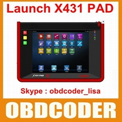 Launch Universal Diagnostic Scanner Launch X431 PAD 3G Wifi Update By Offical We