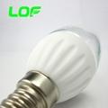 3W led candle light ceramic body led bulb light 5