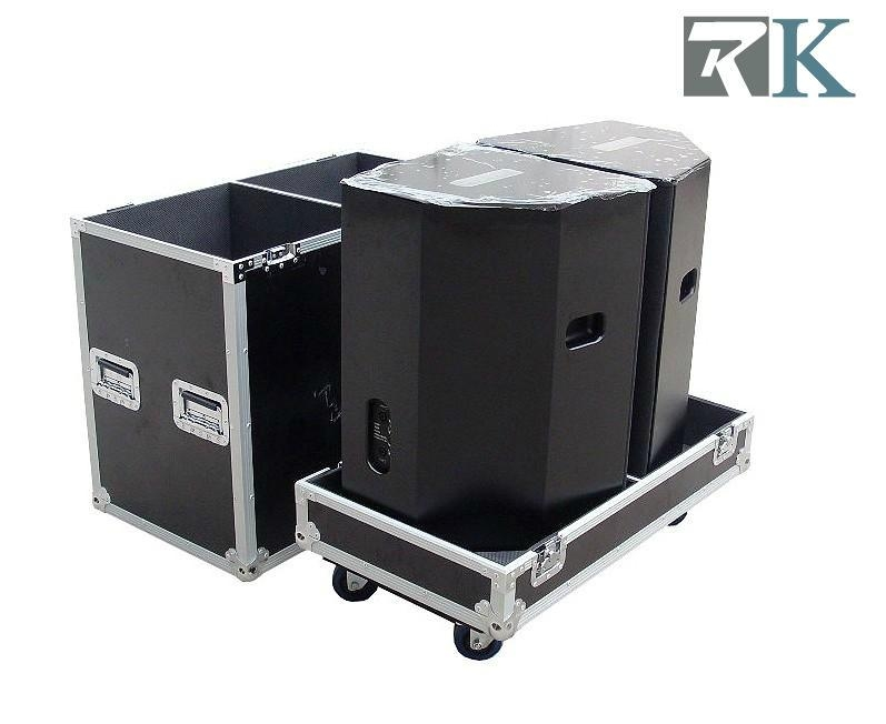 Audio Sound cases for 2 JBL EON 15G2 Speakers on heavy duty storage