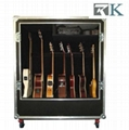 Deluxe Guitar Cases Display 7 Guitars