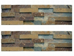 rusty slate wall cladding culture stone