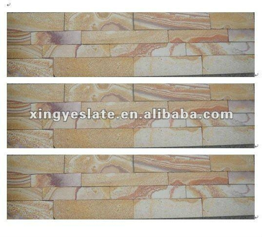exterior wall tile yellow culture stone 4