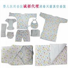 医院  新生婴儿套装