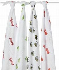 薄款婴儿纱布包巾