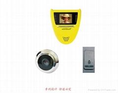 peephole  viewer  doorbell