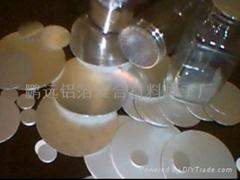 铝箔垫片 /pet铝箔膜 封口膜 /感应垫片 瓶口垫 封口铝箔纸/