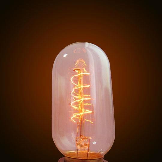 Cylinder Edison Bulb 2