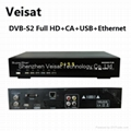 DVB-S2 full hd satellite tv receiver support africa market