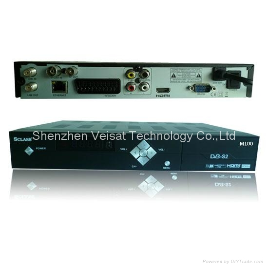 DVB-S2 internet sharing mpeg-4