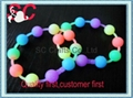 Fashion interlink silicone bracelet  2