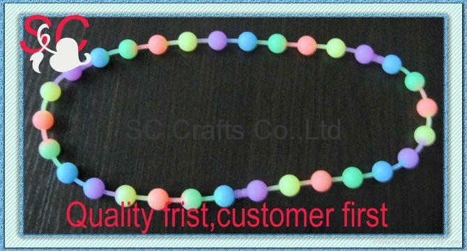 Fashion interlink silicone bracelet  4