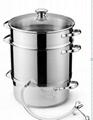 Stainless steel juice pot