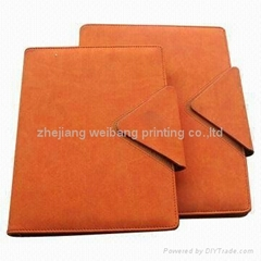 2012 high-quality PU cover notebook