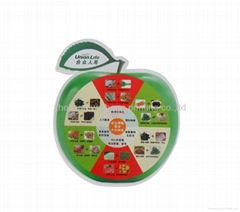 2012 Eco-friendly and superior-quality pvc fridge magnet