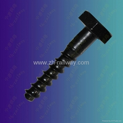 Hex head screw spike