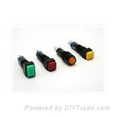 和泉现货指示灯YW1P-2TUQM3R