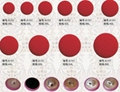beaded fabric buttons 1